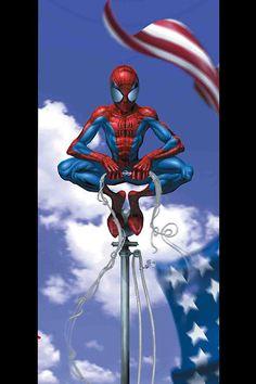 #Ultimate #Spiderman #Fan #Art. (Ultimate Spider-Man Vol.1 #28 Cover) By: Mark Bagley. (THE * 5 * STÅR * ÅWARD * OF: * AW YEAH, IT'S MAJOR ÅWESOMENESS!!!™)[THANK Ü 4 PINNING!!!<·><]<©>ÅÅÅ+(OB4E)