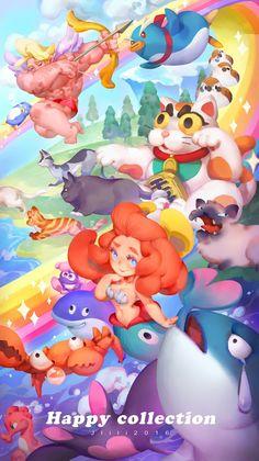 Kai Fine Art is an art website, shows painting and illustration works all over the world. Children's Book Illustration, Character Illustration, Game Concept Art, Anime Art Girl, Fantasy, Game Design, Game Art, Art For Kids, Mobiles