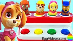 Learn Colors with Play Doh Ice Cream Peppa Pig Elephant Molds Fun & Creative for Kids EggVideos.com - YouTube