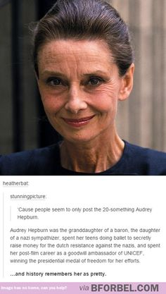 Audrey Hepburn was so much more than what people give her credit for