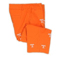 Women's Embroidered Stadium Capri - Tennessee (Orange) by Pennington & Bailes.  Buy it @ ReadyGolf.com