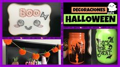 DECORACIONES PARA HALLOWEEN - Súper fáciles de hacer! No te pierdas estas lindas y originales decoraciones para Halloween! ;) Ideas Paso A Paso, Manualidades Halloween, Dog Tags, Dog Tag Necklace, Videos, Easy Crafts, Halloween Prop, Decorations, The Originals