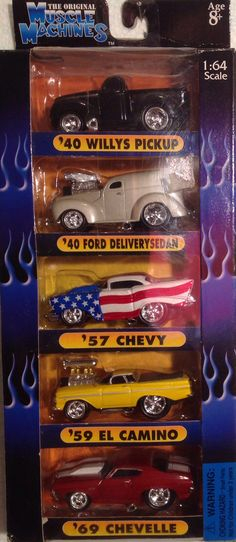Micro Machine Vehicle Chevrolet Chevy 1953 Delivery Sedan Car Your Choice