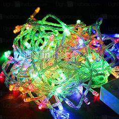 waterdichte 10m 100-LED RGB verlichting led kerstverlichting decoratie snaar licht (110v) 1910468 2016 – €9.79
