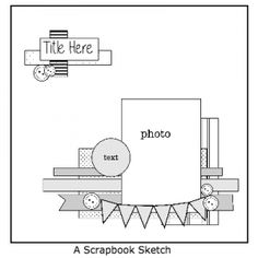 525 Scrapbook Sketches - Create More Pages in Less Time! Discover how to break free from scrappers block and create more pages in less time. Inside discover 525 stunning scrapbook sketches and get inspired! Ideas Scrapbook, Wedding Scrapbook Pages, Scrapbook Layout Sketches, Scrapbook Templates, Scrapbook Designs, Card Sketches, Scrapbook Ideas For Beginners, Cruise Scrapbook Pages, Couple Scrapbook