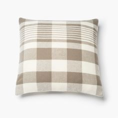 1920 Buffalo Check Wool Pillow Case