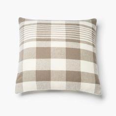 1920 Buffalo Check Wool Pillow Case