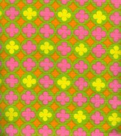 modflowers: fabric designed by Kati Mattila 1968