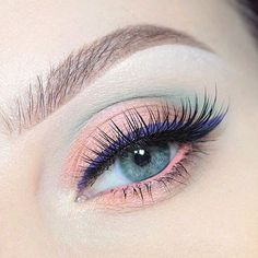 Loving this pastel #eyemakeup by @beccaboo318 using our purple Inscription Line Ace. // #SigmaBeauty
