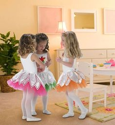 Ballerina Tutu - This ballerina outfit is sure to make any little girl feel like dancing!