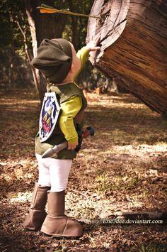 Little Kid Link Cosplay from the Legend of Zelda on Global Geek News.