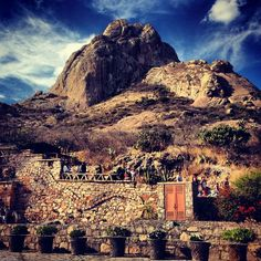 Peña de Bernal in Mexico is one of the tallest monoliths in the world. Photo courtesy of laurdb on Instagram.