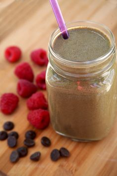 This chocolaty smoothie is just 350 calories, and since it offers 22 grams of protein and almost 10 grams of filling fiber, it's the perfect breakfast to keep you feeling full and satisfied all morning.