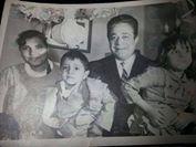 #صورة للمرة الاولى :الفنان توفيق الدقن وزوجتة واطفالة فى لقطة عائلية http://hasrynews.com/news/