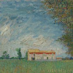 Boerderij in het koren - Van Gogh Museum