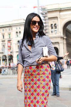 Gilda Koral Flora Milan Fashion Week Street Style ss15 photo by Claudia Bellotti for Tessabit
