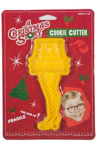 Leg Lamp Cookie Cutter. Why do I not own this!!??