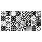 Smart Tiles 9 in. x 9 in. Peel and Stick Mosaic Decorative Wall Tile in Vintage Bilbao (6 pack) SM1090-6 at The Home Depot - Mobile