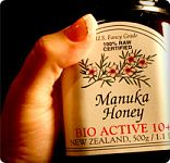 This is the number one used product in my medicine cabinet and first aid kit...manuka honey