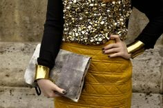 Gold Glam Fashion