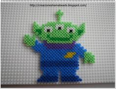 Toy Story Alien hama beads by Laura