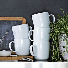 Williams-Sonoma Open Kitchen Mugs, Set of 4 | Williams-Sonoma