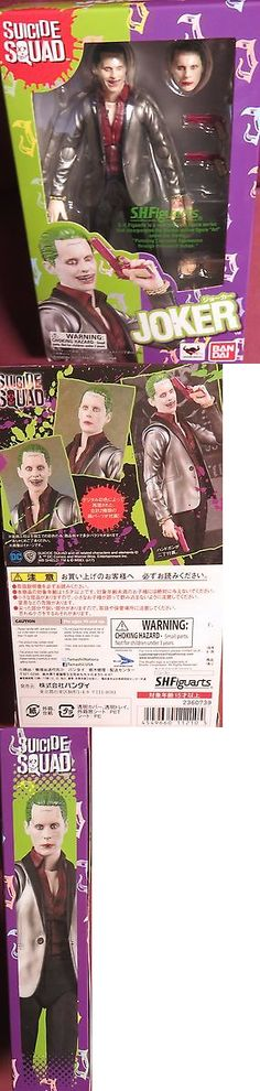 Other TV Movie Character Toys 2622: Brand New Bandai, Shfiguarts, Suicide Squad, The Joker Figure -> BUY IT NOW ONLY: $35.99 on eBay!