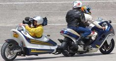 How is this for a motor bike camera rig?