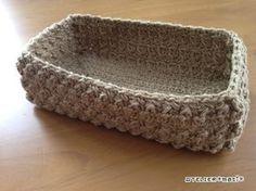 【編み図】玉編みのスクエアかご – かぎ針編みの無料編み図 Atelier *mati*