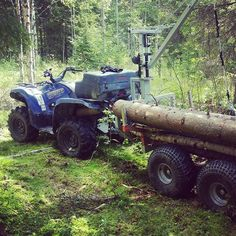 "Fan photo of the day! ""Just love it"" from ipetterii #yamahagrizzly"