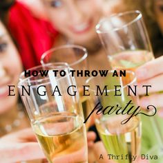 So you have the idea to throw an engagement party for your best friend.  There are so many great reasons these two deserve a celebration in their honor and you feel compelled to host it for them. ...