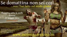 """Una versione più """"forte"""" della cartolina sulla Notte Bianca 2014 a Arezzo"""