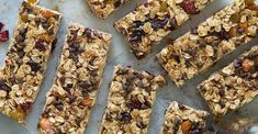 34 energy bars you can make at home - These bars are loaded with all kinds of good stuff