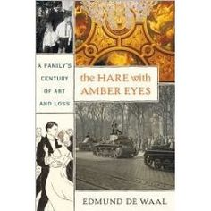 The Hare with Amber Eyes: A Hidden Inheritance, Edmund de Waal's memoir about his extraordinary Jewish family and an inherited collection of ornamental Japanese Used Books, Books To Read, My Books, Amber Eyes, Hare, Family History, Art History, So Little Time, Memoirs
