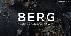 BERG v3.1.5 - Restaurant WordPress Theme