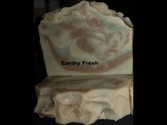 The cut of my Earthy Fresh Cold Process Soap - YouTube