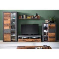 Anbauwand Indiana In Betonoxid Old Wood Online Bei Hardeck Kaufen