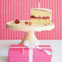Strawberry Cream Cake  - Delish.com