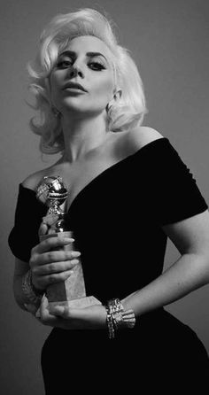Lady Gaga, Golden Globes 2016 Best Actress for American Horror Story Hotel