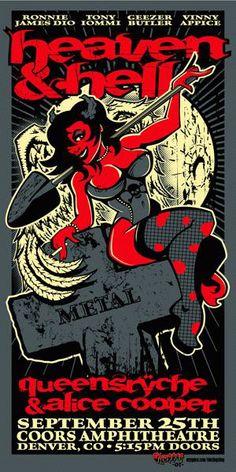 Black Sabbath / Alice Cooper / Queensryche Denver 2007