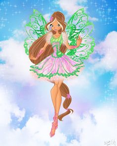 Flora butterflyix by winx club