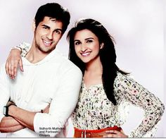 Two awesome new commers in Bollywood, love this pic: Parineeti Chopra and Siddarth Malhotra