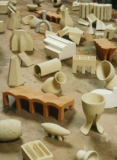 All sizes | Tom Lauerman, Lexicon (detail), 2005, ceramic, dimensions variable | Flickr - Photo Sharing!
