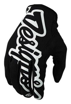 Troy Lee Designs Pro Men's Off-Road Motorcycle Gloves - Black / Medium * You can get additional details at the image link.