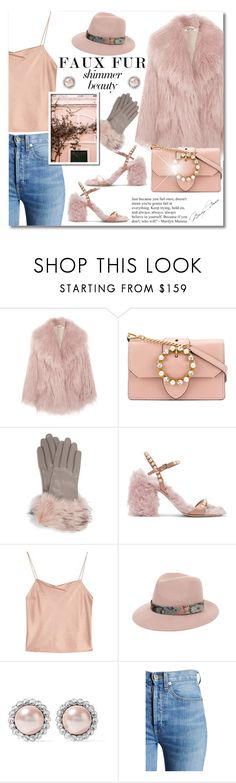 """Faux Fur: Miu Miu Style"" by sarahm2002 ❤ liked on Polyvore featuring Miu Miu, Ted Baker, Alice + Olivia and RE/DONE"
