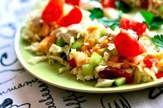 Sałatka z kapusty pekińskiej | Fresh salad http://www.codogara.pl/7678/salatka-z-kapusty-pekinskiej/
