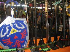 Et voilà le petit récap' photo du jour 1 de #JapanExpo2014   http://manga.tv/blog/2014/07/japan-expo-15e-impact-jour-1/   #Cosplay #JE15 #JapanExpo #YaPersonneLePremierJour #Link #Shield #Zelda