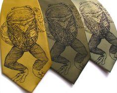 Mens-Geschenk prätentiös Frosch Mens Krawatte von ScatterbrainTies
