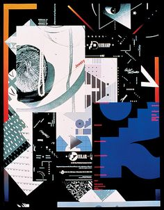 Expressive Typography Cover, Cover for Step-by-Step Graphics Magazine, 1991
