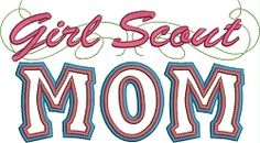 Our Girl Scout Mom Applique with a Twist is the perfect machine embroidery design for any Girl Scout Mom. Scout Mom, Girl Scouts, Girl Scout Shirts, Word Girl, Air Force Mom, Band Mom, Marine Mom, Volunteer Gifts, Coast Guard